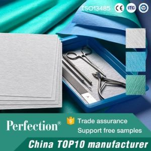 Disposable Medical Crepe Wrapping Paper for Sterilization Packaging pictures & photos