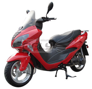 Motorcycle 50CC EEC Approved (YY50QT-19A(2T)) pictures & photos