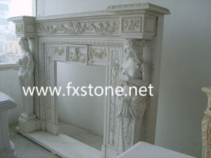 Fireplace Mantel with Character pictures & photos