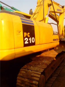 Used Komatsu Hydrualic Crawler Excavator (PC210LC-7) with CE