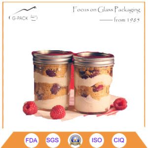 Wholesale Hexagonal Glass Jars with Lug Caps pictures & photos