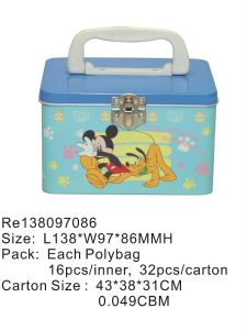 Lunch Box with PVC Window pictures & photos