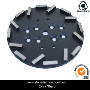 10 Inch Concrete Floor Grinding Plate for Radial Arm Machine pictures & photos