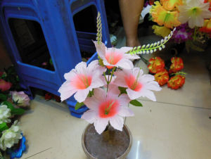 Artificial Flowers Ywfz007 Height: 35cm Plastic Flowers pictures & photos