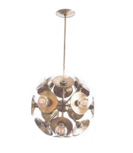 Metallic Round Ball Chandelier with Muti Lampholders (WHG-556) pictures & photos