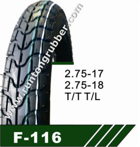 China Motorcycle Tire or Motorcycle Tire 2.75-17 2.75-18 pictures & photos