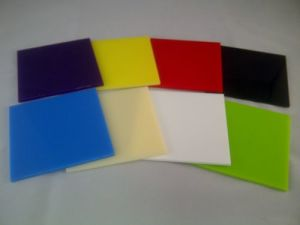 Plastic Color PS Sheet for Advertising Material SGS RoHS Ce pictures & photos