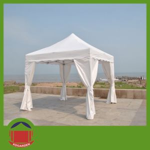 White Color Pop up Gazebo Tent for Field Sport pictures & photos