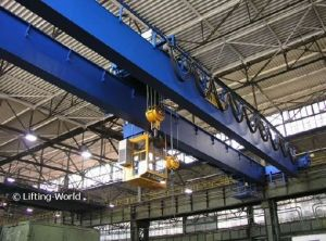 Double Girder Bridge Running Crane pictures & photos