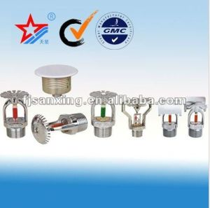 Zinc or Brass Material Type of Fire Sprinkler Head pictures & photos