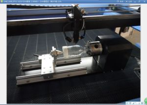 Stamp Rubber CO2 Mini Laser Engraving Machine for Acrylic Glass Paper Wood pictures & photos