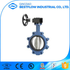 Wafer Type Electric Butterfly Valve Cheap Ductile Iron Butterfly Valve pictures & photos