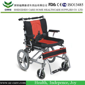 Rehabilitation Medical Equipment Folding Handicapped Electric Wheelchair