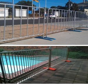Construction Barrier / Crowd Control Barrier Temporary Chain Link Fence Chain Link Crowd Control Barrier pictures & photos