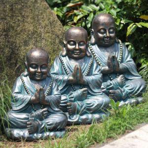 Fiberglass Large Buddha Statues for Garden Decoration