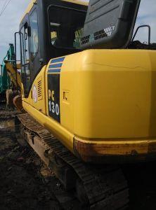 Komatsu Used 13 Ton Mini Hydraulic Excavator with CE (PC130-7)