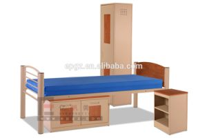 Metal Frame Children Furniture Bedroom Furniture Sets Children Bed Kids Bunk Bed pictures & photos