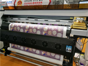 Fd-1900 Dye Sublimation Printer for Piece or Roll Fabrics pictures & photos
