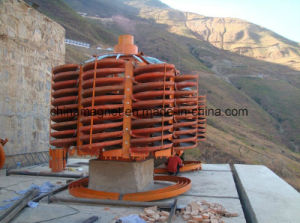 Tungsten Ore, Tin, Tantalum Ore, Niobium spiral Chute/ Spiral Chute Separating Machine for Concentrating Mine From Gold Mining Factory pictures & photos