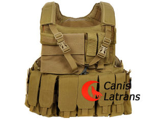 Molle Tactical Army Combat Armor Vest with Pouch Set Cl4-0018 pictures & photos