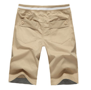 2015 Khaki Classic Business Mens Summer Shorts pictures & photos