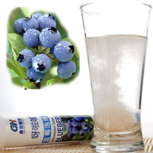 Natural Bluebery Effervescent Tablets (healthcare supplyment)