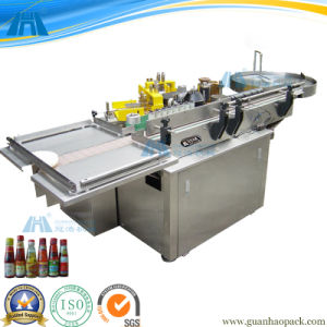 Automatic Small Bottle Paste/Glue Labeling Machine (GH-80) pictures & photos