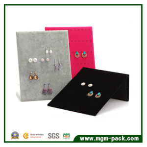 Simple Style Velvet Jewelry Display for Ear Rings pictures & photos