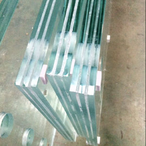 12mm Thick Tempered Laminated Balustrade Glass Hot Sale 4mm-19mm Laminated Glass Building Construction pictures & photos