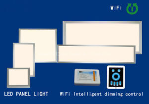 New 6060 54W WiFi Intelligent Dimmable Controlled SMD Panel Light pictures & photos