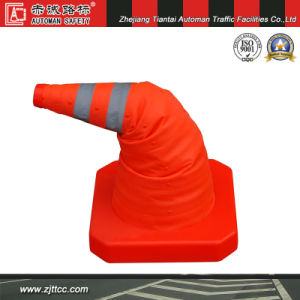 60cm Folding Waterproof Cloth Road Cone for Private Car Use (CC-AB60) pictures & photos