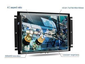 "12.1"" TFT LCD Metal Frame Tactile Monitor with 4: 3 pictures & photos"