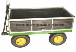 Heavy-Duty Metal Garden Transporting Dumping Trolley Cart Tc4212 pictures & photos