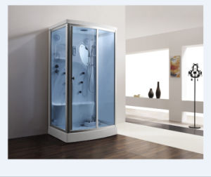 1120*900*2120mm Freestanding Rectangle Steamroom (M-8256B) pictures & photos