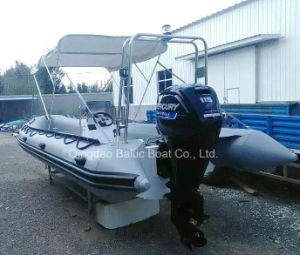 Fiberglass Work Rib Boats with Center Console 730 Ce