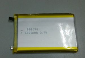 3.7V 826090 5000mAh Lithium Polymer Battery pictures & photos
