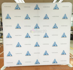 Custom Printing Tension Fabric Exhibition Booth Display Backdrop Banner pictures & photos