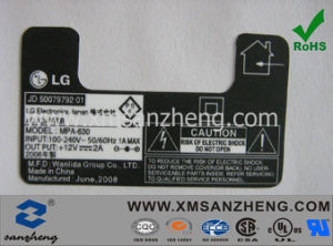 LG Electronic Stickers (SZXY056) pictures & photos