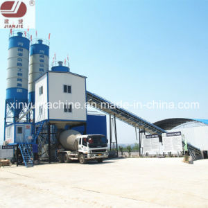 Belt Conveye Stationary Concrete Batching Plant on Sale (HZS60) pictures & photos