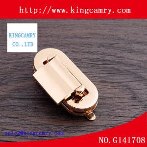 Metal Insert Handbag Lock Metal Flip Lock Button Lock Handbag Twist Lock pictures & photos