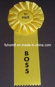 Yellow Rosettes Ribbon for The Sport Winner pictures & photos