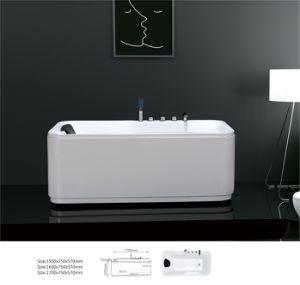 Classic Bathroom Acrylic Freestanding Skirt Bathtub (BNG2012)
