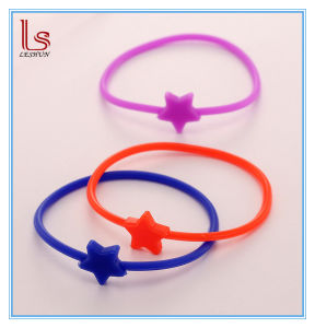 Cheap Wholesale Elastic Ring Silicone Hair Bands Many Styles pictures & photos