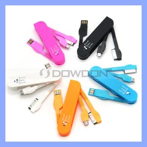 Folding Pocket Knife USB Multi 3 in 1 Charger for iPhone 5/5s/4s Samsung pictures & photos