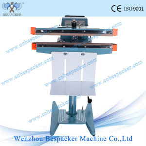 Double Seals Foot Pedal Impulse Sealing Machine pictures & photos