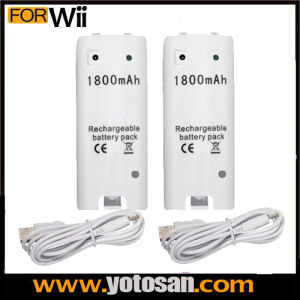 Replacement Rechargeable Batteries for Wii Remote Controller pictures & photos