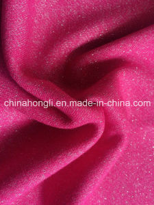 French Terry Polyester Cotton Lurex Coarse Knitting Fabric for Lady Apparel pictures & photos