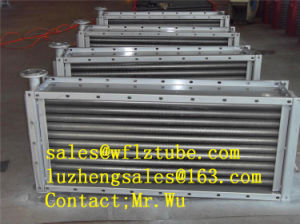 Aluminum Fins Heat Exchanger, Al Fins Heat Exchanger pictures & photos