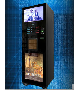 Grade a 22 Inch LCD Display Advertisement Vending Machine (LF-306D-22G) pictures & photos