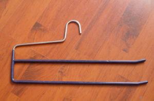Open Ends Double Pants Bar Trousers Clothes Hanger Hangers for Jeans pictures & photos